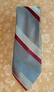American Edition Red Gray Tie